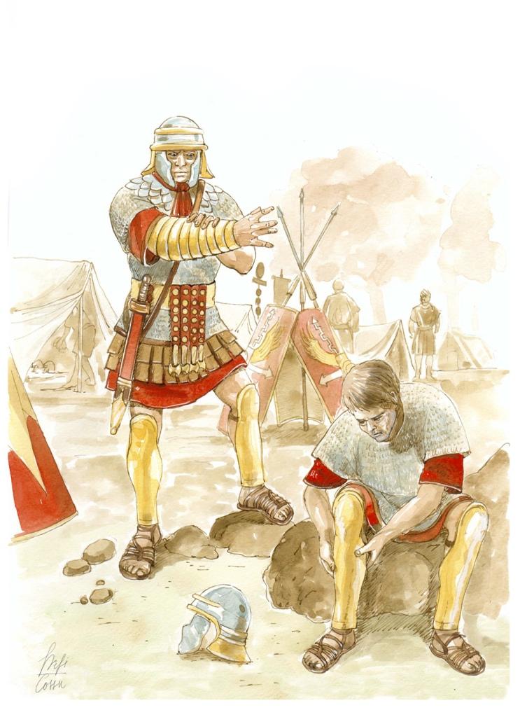 Soldati-romani-vestizione