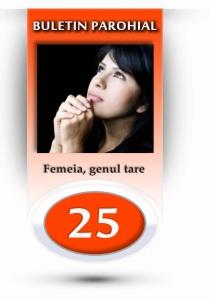 nr.25 - femeia, genul tare