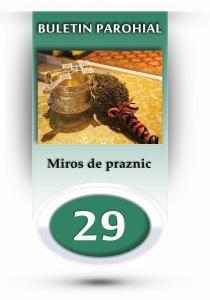 nr.29 - miros de praznic