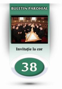 nr.38 - invitatie la cor