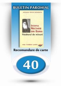 nr.40 - recomandare de carte - monahul teoclit dionisiatul