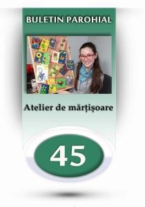 nr.45 - atelier de martisoare