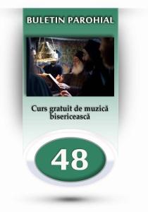 nr.48 - curs gratuit de muzica bisericeasca