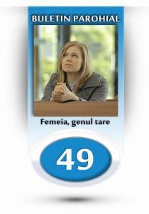 nr.49 - femeia, genul tare