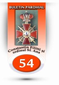 nr.54 - ordinul sfanta Ana