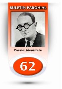 nr.62 - Identitate, Radu Gyr