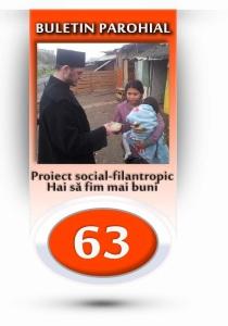 nr.63 - proiect social-filantropic, hai sa fim mai buni
