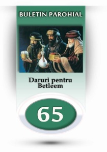 nr.65 - daruri pentru betleem