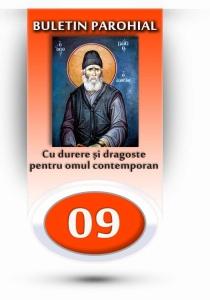 nr.9 - Cu durere și dragoste pentru omul contemporan