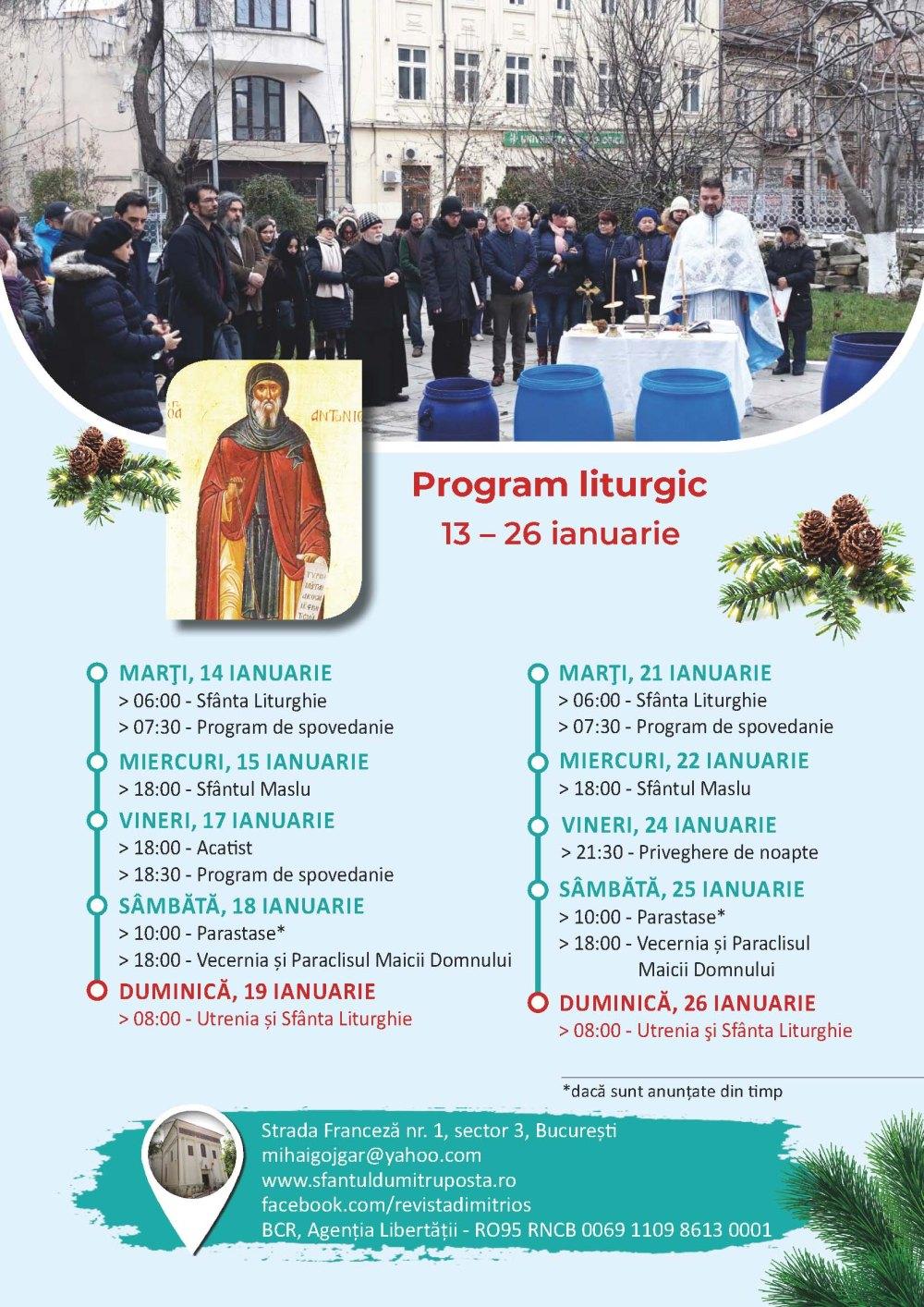 program liturgic